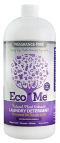 3 PACK of Eco-Me Laundry Detergent Fragrance-Free -- 32 fl oz