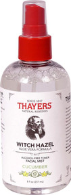 3 PACK of Thayers Witch Hazel Alcohol Free Toner Facial Mist Cucumber -- 8 fl oz