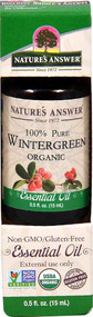 3 PACK of Nature's Answer 100% Pure Organic Essential Oil Wintergreen -- 0.5 fl oz
