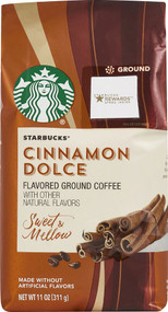 3 PACK of Starbucks Flavored Ground Coffee Cinnamon Dolce -- 11 oz