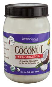3 PACK of Better Body Foods Organic Virgin Coconut Oil -- 15.5 fl oz
