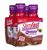 3 PACK of SlimFast Original High Protein RTD Shake Creamy Milk Chocolate -- 4 Pack