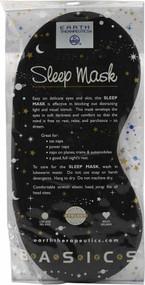 3 PACK of Earth Health-promotings Sleep Mask Black -- 1 Mask