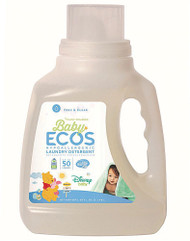 3 PACK of Earth Friendly Baby Ecos Disney Laundry Detergent Free and Clear -- 50 fl oz