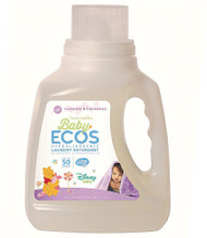 3 PACK of Earth Friendly Baby Ecos Disney Laundry Detergent Lavender and Chamomile -- 50 fl oz