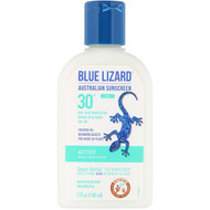 Blue Lizard Australian Sunscreen, Active, Mineral-Based Sunscreen, SPF 30+, 5 fl oz (148 ml)