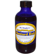 Dr. Singha's, Mustard Rub, 4 fl oz (118.4 ml)