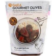 3 PACK of Gaea, Gourmet Olives, Marinated Pitted Kalamata Olives, 4.2 oz (120 g)