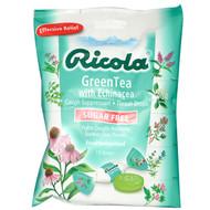3 PACK OF Ricola, Green Tea with Echinacea, Sugar Free, 19 Drops