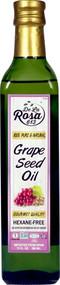 3 PACK of De La Rosa Grape Seed Oil Non GMO Hexane-Free -- 17 fl oz