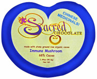 3 PACK of Sacred Chocolate Heart Bar Immuno Mushroom -- 1.44 oz