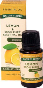 3 PACK of Natures Truth 100% Pure Essential Oil Lemon -- 0.51 fl oz