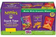 3 PACK of Annies Homegrown Organic Snack Packs Variety Packs -- 12 Bags