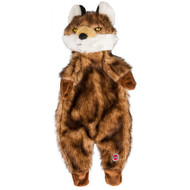 3 PACK of Ethical Pet Products Furzz Plush Dog Toy Brown Wolf -- 1 Toy