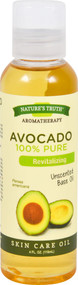 3 PACK of Natures Truth 100% Pure Avocado Oil Unscented Base Oil -- 4 fl oz