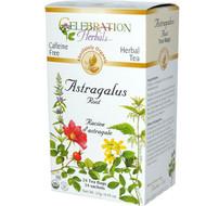 3 PACK of Celebration Herbals Organic Herbal Tea Caffeine Free Astragalus Root -- 24 Herbal Tea Bags