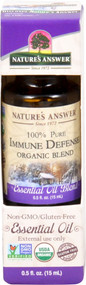 3 PACK of Natures Answer 100% Pure Organic Essential Oil Blend Immune Defense -- 0.5 fl oz