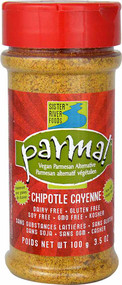 3 PACK of Parma Parmesan Cheese Alternative Vegan Chipotle Cayenne -- 3.5 oz
