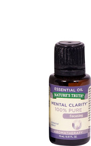 3 PACK of Natures Truth Focusing 100% Pure Essential Oil Mental Clarity -- 0.51 fl oz