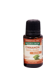 3 PACK of Natures Truth 100% Pure Essential Oil Warming Cinnamon -- 0.51 fl oz