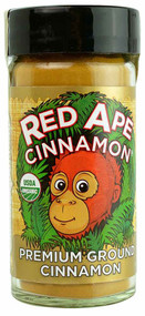 3 PACK of Red Ape Cinnamon Organic Premium Ground Cinnamon -- 2.3 oz