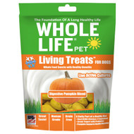 3 PACK of Whole Life Pet Living Treats for Dogs Digestive Pumpkin Blend -- 3 oz