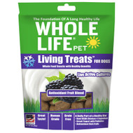 3 PACK of Whole Life Pet Living Treats for Dogs Antioxidant Fruit Blend -- 3 oz