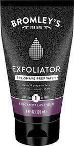 3 PACK of Bromleys Exfoliator Pre-Shave Prep Wash Bergamot Lavender -- 4 fl oz