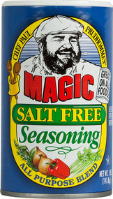 3 PACK of Chef Paul Prudhommes Magic Salt Free Seasoning All Purpose Blend -- 5 oz