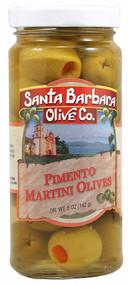 3 PACK of Santa Barbara Olive Co. Pimento Martini Olives -- 5 oz