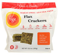 3 PACK of Ener-G Flax Crackers Gluten Free -- 10.6 oz