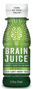 3 PACK of Brain Juice Liquid Nutritional Supplement Original -- 2.5 fl oz