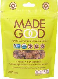 3 PACK of MadeGood Apple Cinnamon Granola Minis -- 3.5 oz