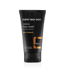 3 PACK of Every Man Jack Charcoal Face Wash Skin Cleanser Fragrance Free -- 5 fl oz