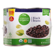3 PACK of Simple Truth Organic Black Beans -- 4 Cans