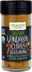 3 PACK of Frontier Co-Op Organic Vindaloo Curry Seasoning -- 1.9 oz
