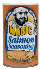 3 PACK of Chef Paul Prudhommes Magic Seasoning Blends Salmon -- 7 oz