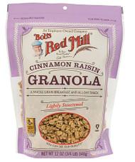 3 PACK of Bobs Red Mill Cinnamon Raisin Granola Cinnamon Raisin -- 12 oz