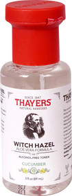 3 PACK of Thayers Witch Hazel Alcohol Free Toner Facial Mist Cucumber -- 3 fl oz