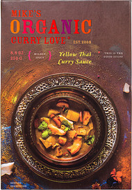 3 PACK of Curry Love Organic Curry Simmer Sauce Gluten Free Mildly Spicy Yellow Thai -- 8.8 oz