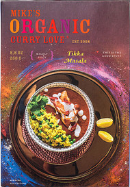 3 PACK of Curry Love Organic Curry Simmer Sauce Gluten Free Mildly Spicy Tikki Masala -- 8.8 oz