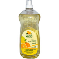 3 PACK of Citrus Magic Natural Dishwashing Liquid Light Citrus Scent -- 25 fl oz