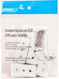 3 PACK of GreenAir GreenSpace Oil Diffuser Refills -- 1 Pack