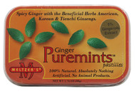 3 PACK of Meltzers Puremints Ginger -- 1.76 oz