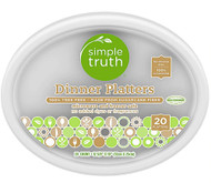 3 PACK of Simple Truth Dinner Platters -- 20 Dishes