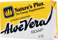 3 PACK of Nature's Plus, Aloe Vera Soap, 3 oz