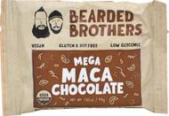 3 PACK of Bearded Brothers Raw Energy Bar Mega Maca Chocolate -- 1.52 oz