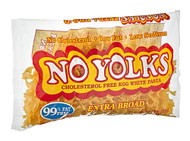 3 PACK of No Yolks Enriched Egg White Pasta Extra Broad -- 12 oz