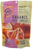 3 PACK of GoOrganic Gluten Free Hard Candies Blood Orange -- 3.5 oz