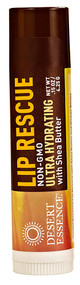 3 PACK of Desert Essence, Lip Rescue, Ultra Hydrating with Shea Butter, .15 oz (4.25 g)